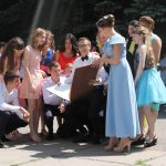 Флэшмоб выпускников