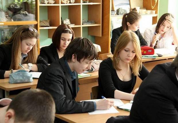 Школьники - будущее страны.