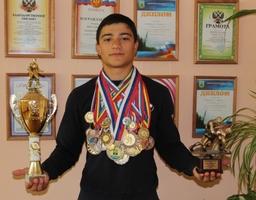 Спортсмен - гордость школы.