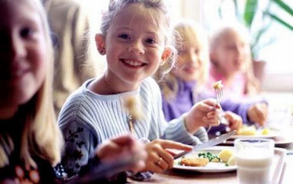 Бесплатное питание в школе.