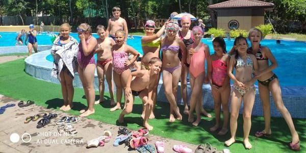 Лето, жара, бассейн!