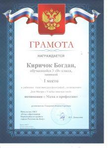 Киричок Богдан 001