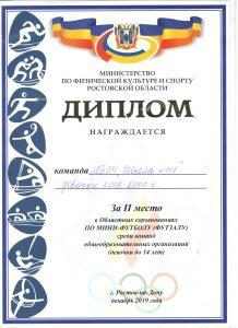 113-Футбол 2 место 001