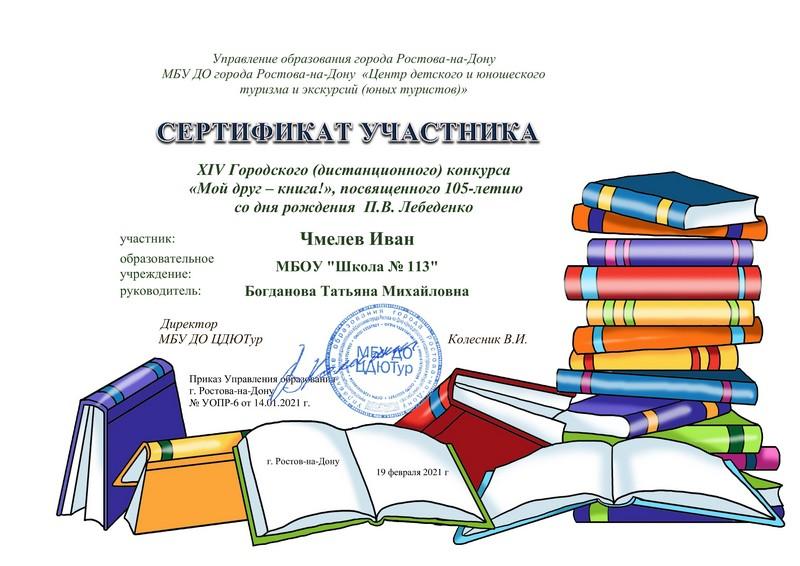 113 Чмелев Иван